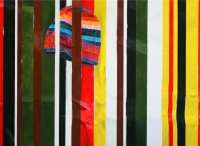 I blandt dem (Among them), 2010, 70 x 95 cm, acrylic and oil on canvas