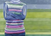 Cut, 2007, 132 x 188 cm, acrylic and oil on canvas