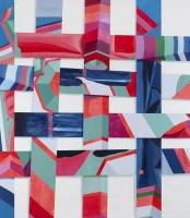 u.t. (fletbillede IV), 2011, 229 x 200 cm, acrylic and oil on canvas