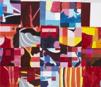 u.t., 2010, 138 x 159 cm, acrylic and oil on canvas