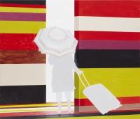 u.t., 2010, 90 x 105 cm, acrylic and oil on canvas