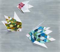 Klipbillede, 2010, 138 x 159 cm, acrylic and oil on canvas