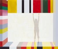 Rækkevidde (Reach), 2010, 90 x 105 cm, acrylic and oil on canvas