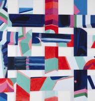 u.t. (fletbillede III), 2010, 138 x 129 cm, acrylic and oil on canvas