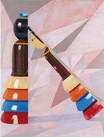Ja, 2011, 150 x 113, acrylic and oil on canvas
