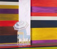 u.t., 2012, 90 x 105 cm, acrylic and oil on canvas
