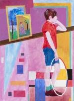 """Vide rammer"" 2015  95x70 cm acrylic on canvas"